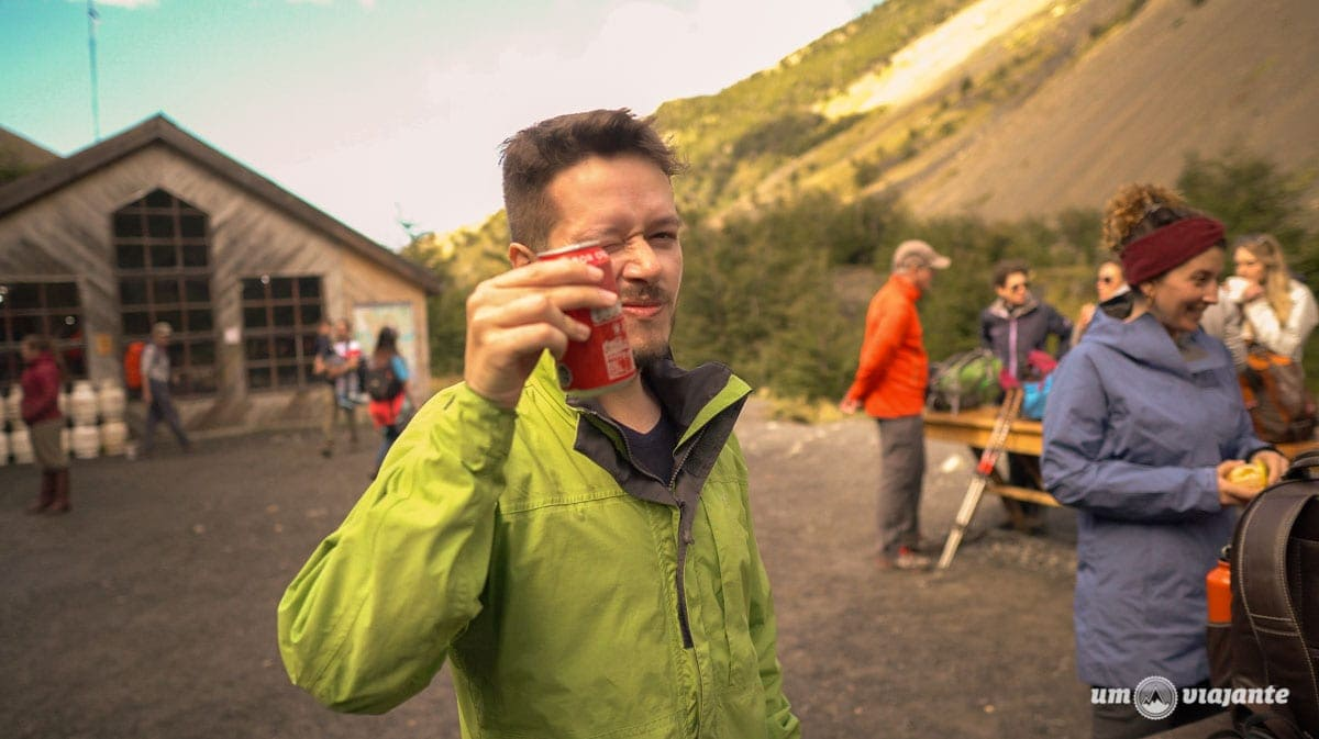 Trekking rumo a base das Torres del Paine - Patagônia Chilena