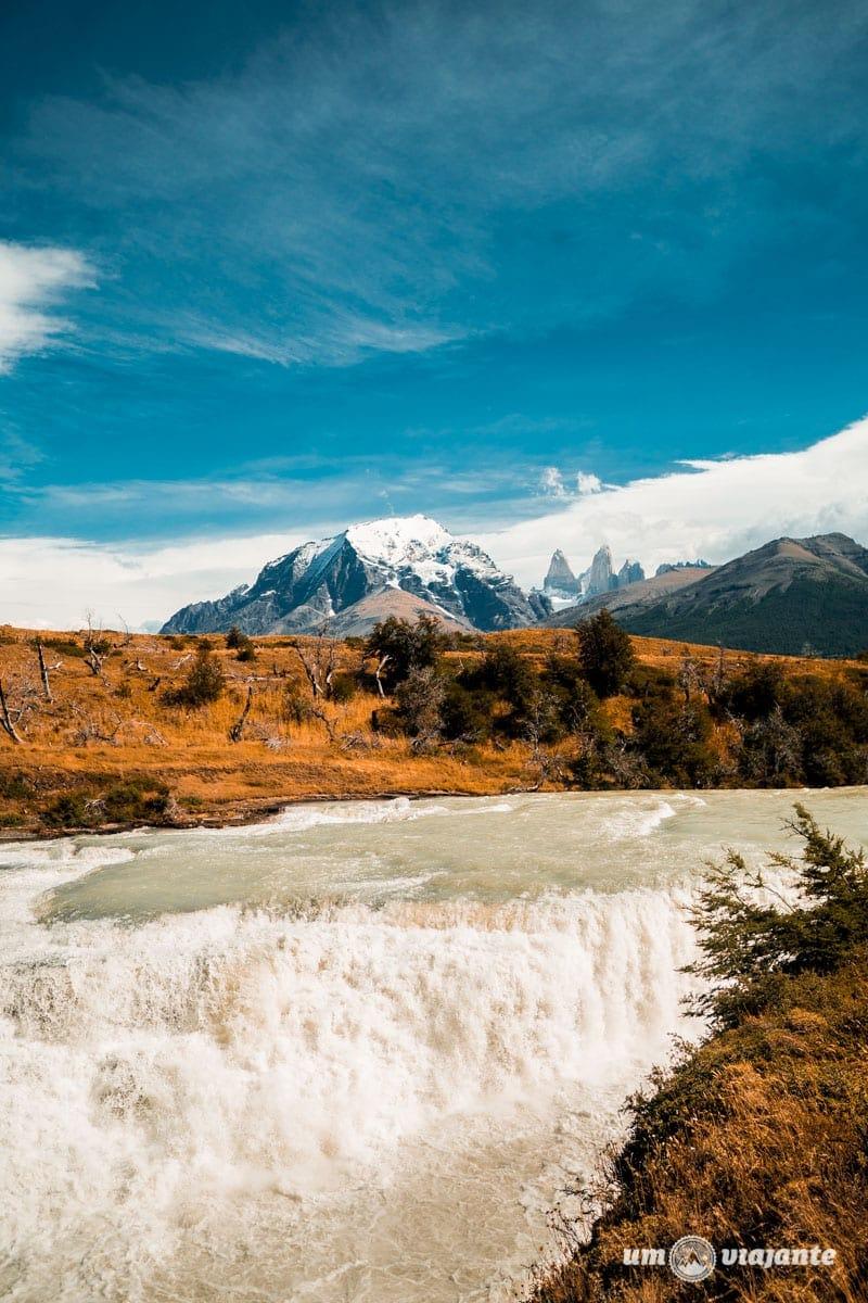 Cascada del Rio Paine - Torres del Paine - Patagônia Chilena