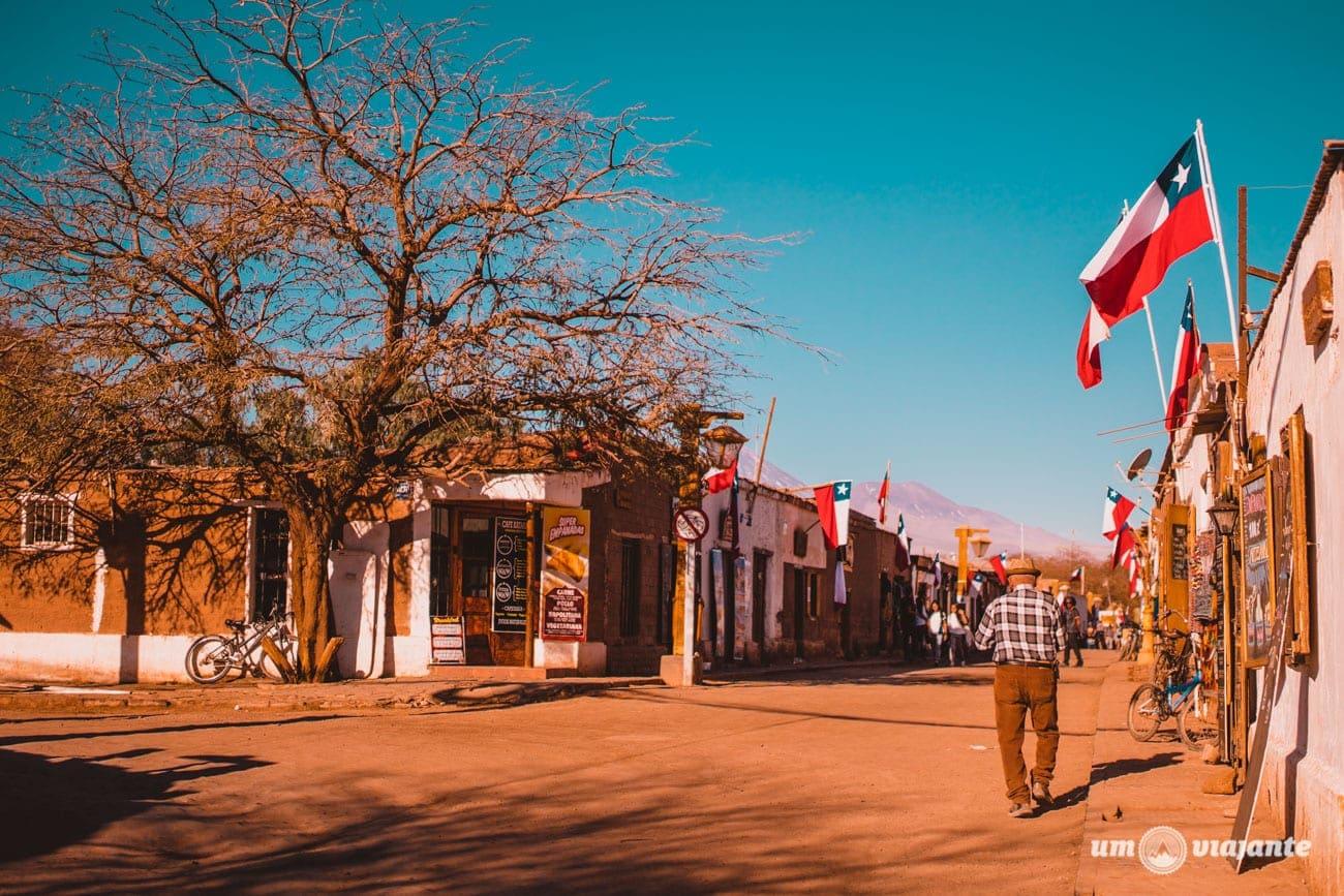 Calle Caracoles - San Pedro de Atacama- Chile
