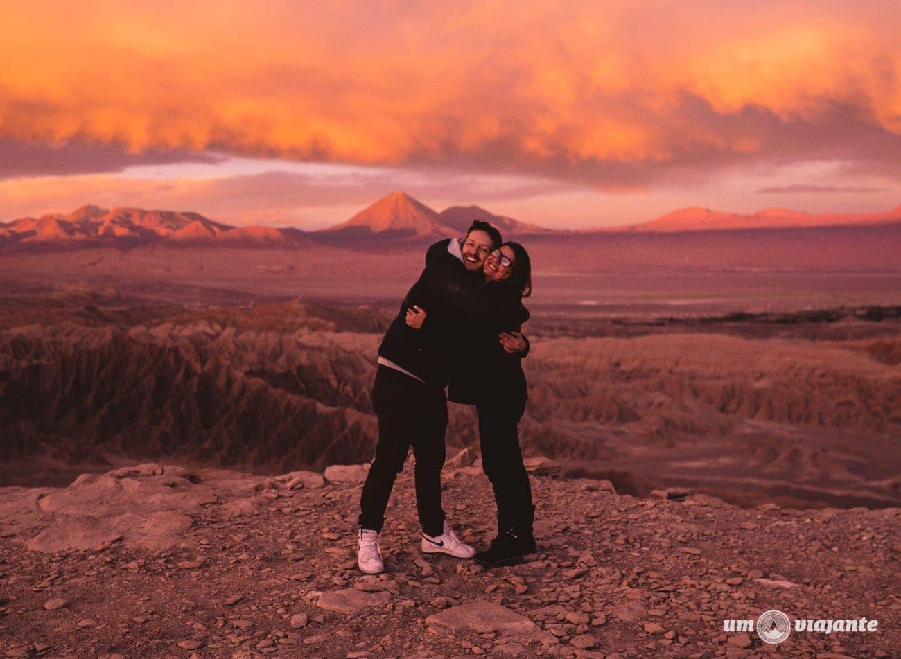 Eu e minha mãe no Deserto do Atacama - FlaviaBia