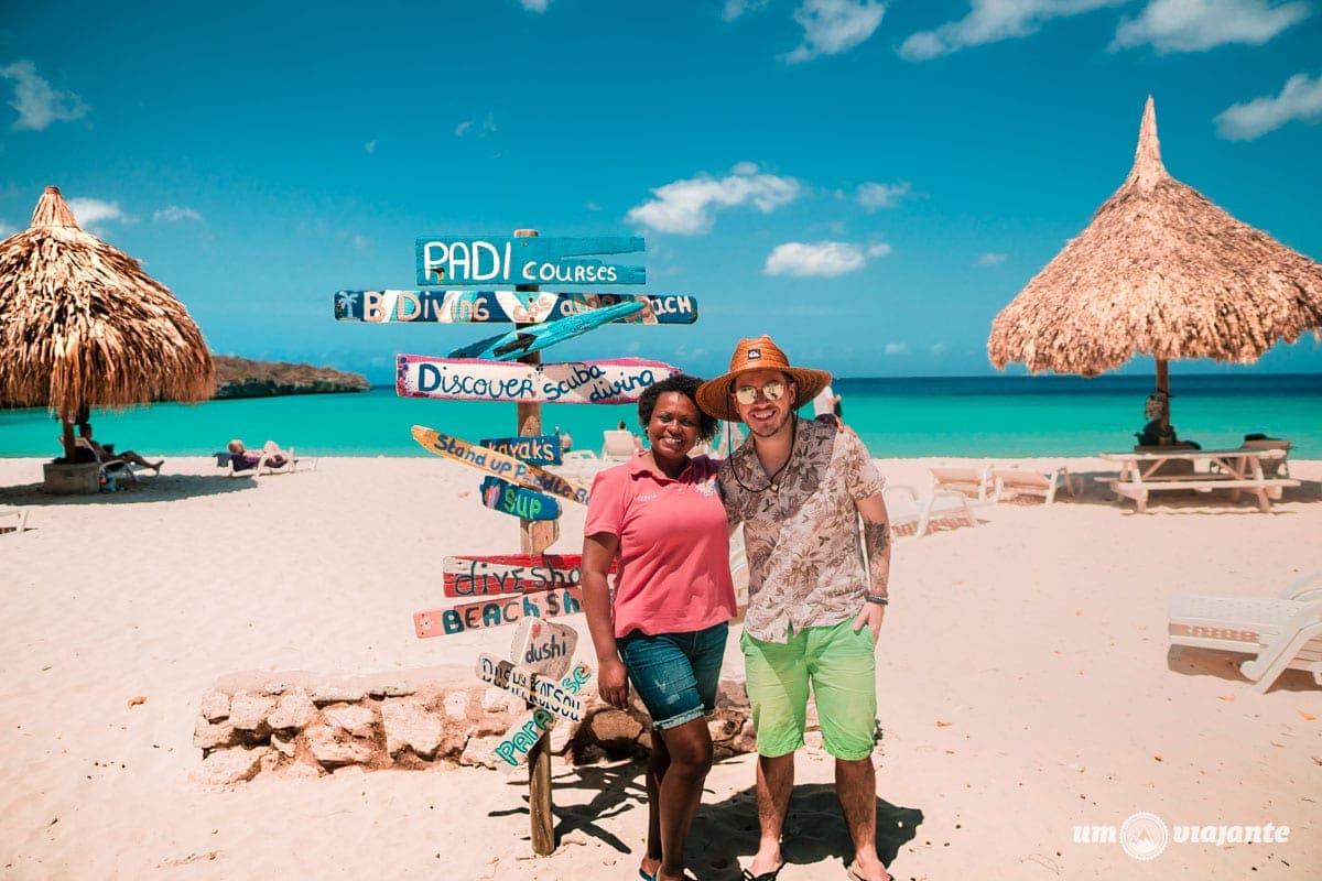 Guia Brasileira em Curaçao