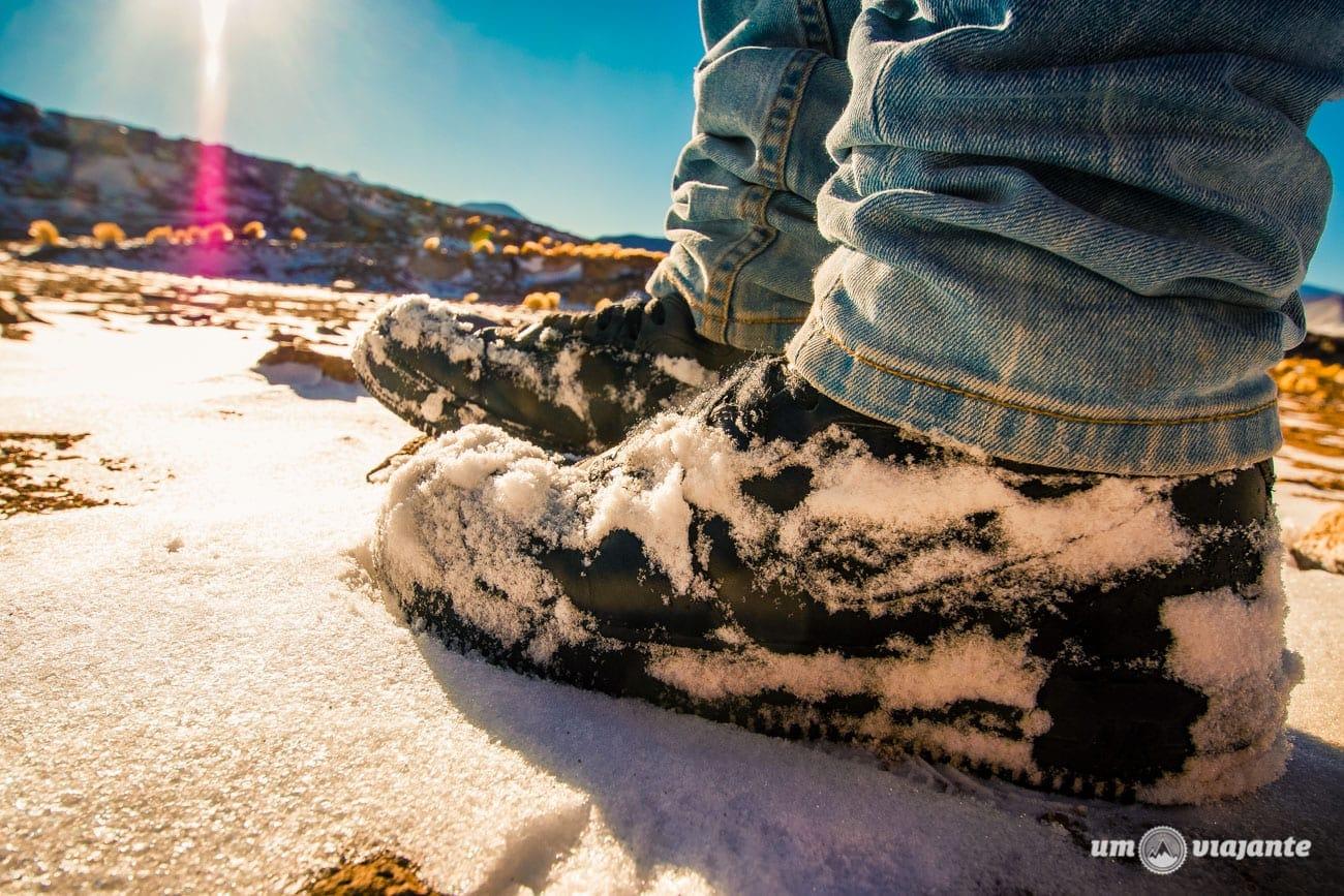 Neve no Atacama - Lagunas Altiplânicas