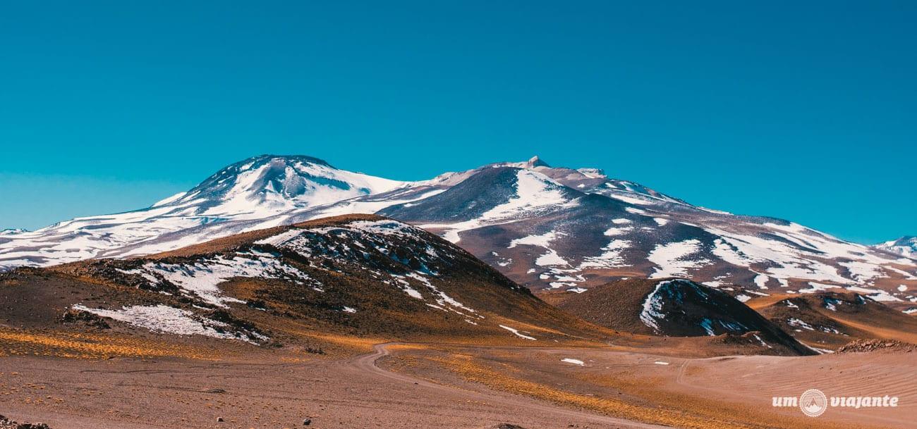 Deserto do Atacama - Passeio para Lagunas Altiplânicas e Piedras Rojas