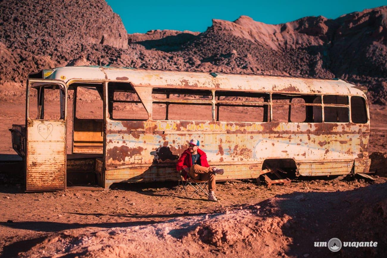 Ônibus Abandonado - Atacama