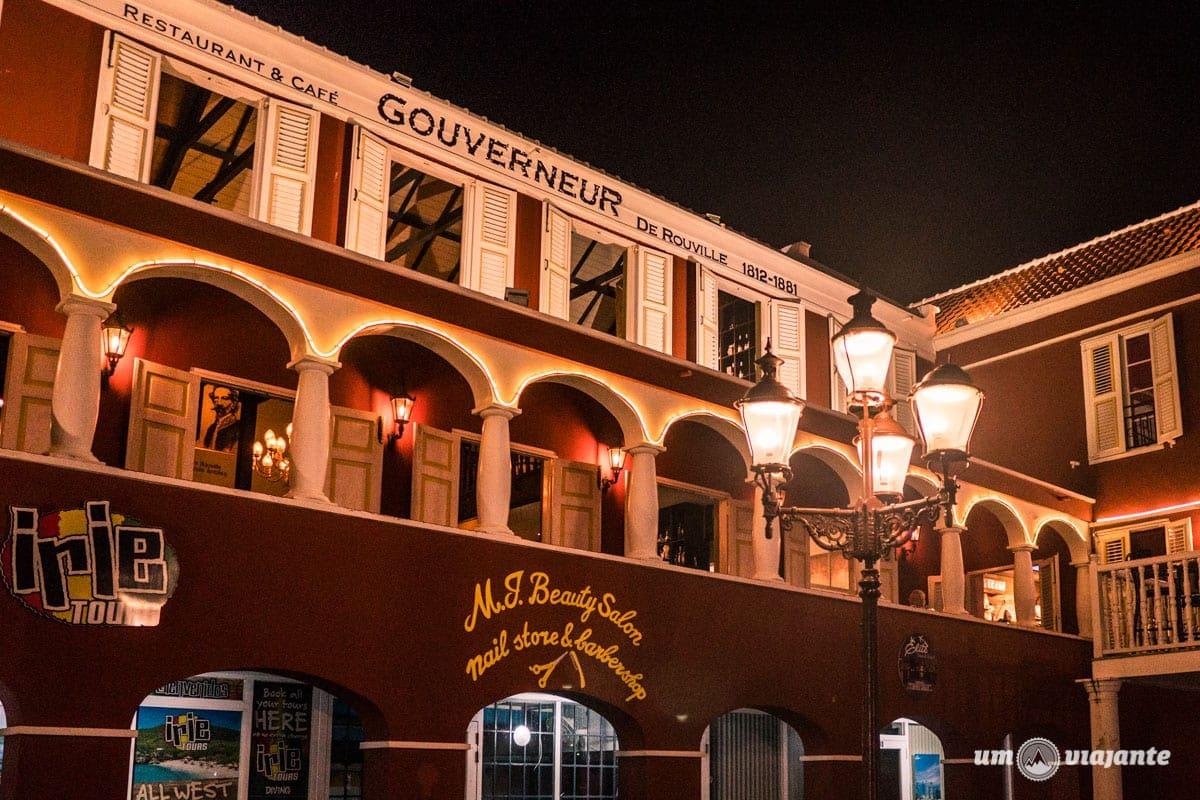 The Gouverneur - Restaurante em Curaçao