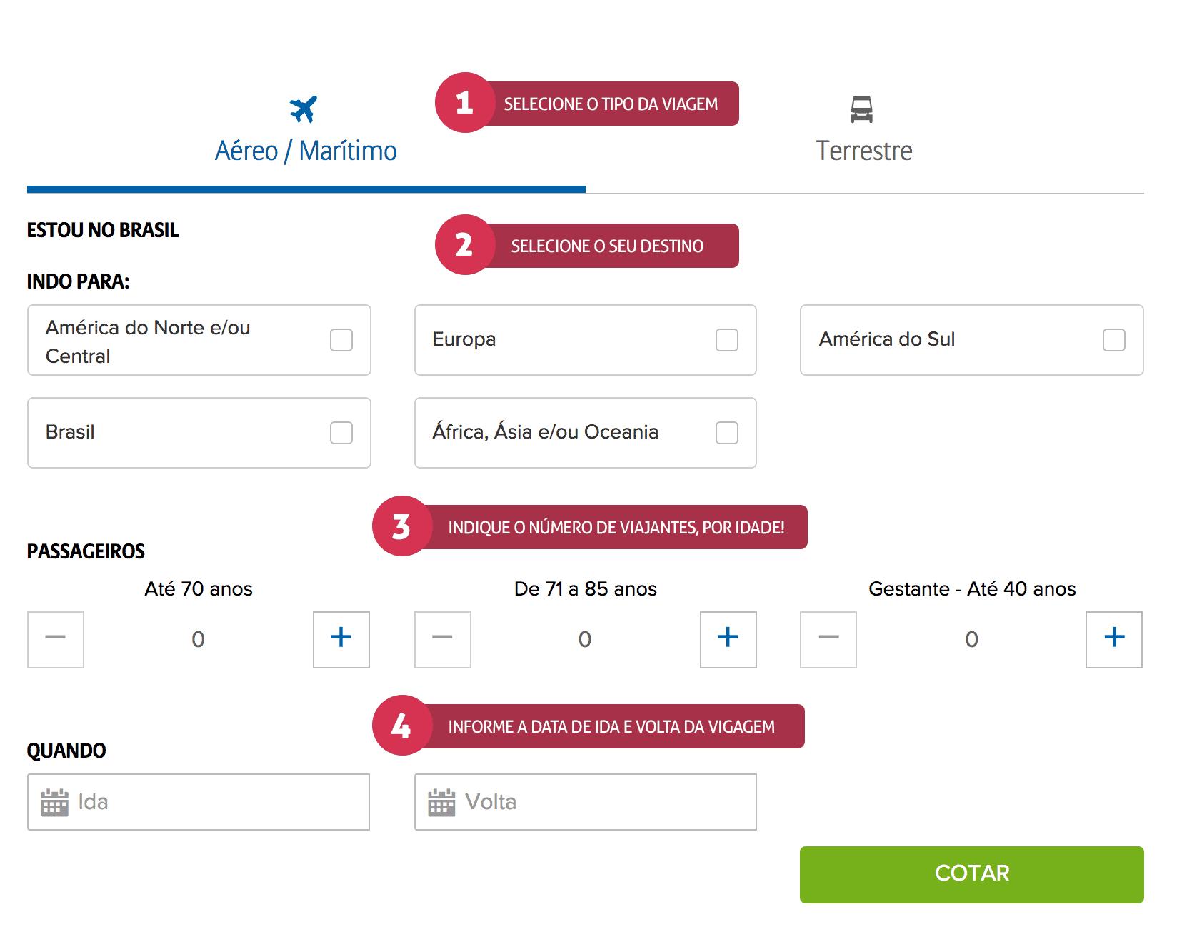 Como contratar o seguro viagem com desconto!