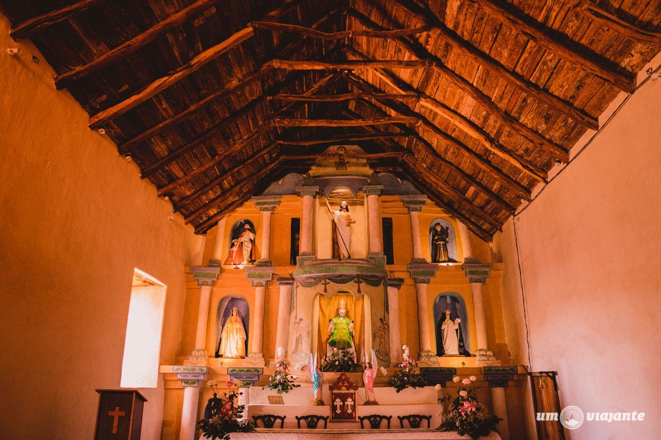 Igreja San Pedro de Atacama, Chile