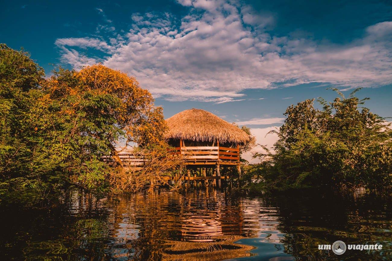 Chegando no Juma Amazon Lodge - Hotel de selva na Amazônia