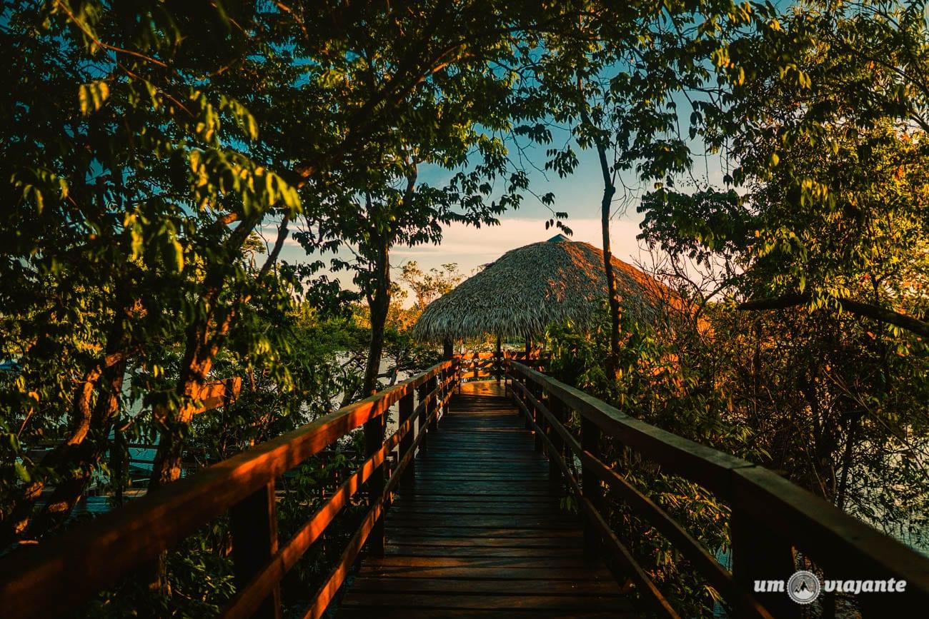 Caminho para o redário - para você relaxar no Hotel Juma