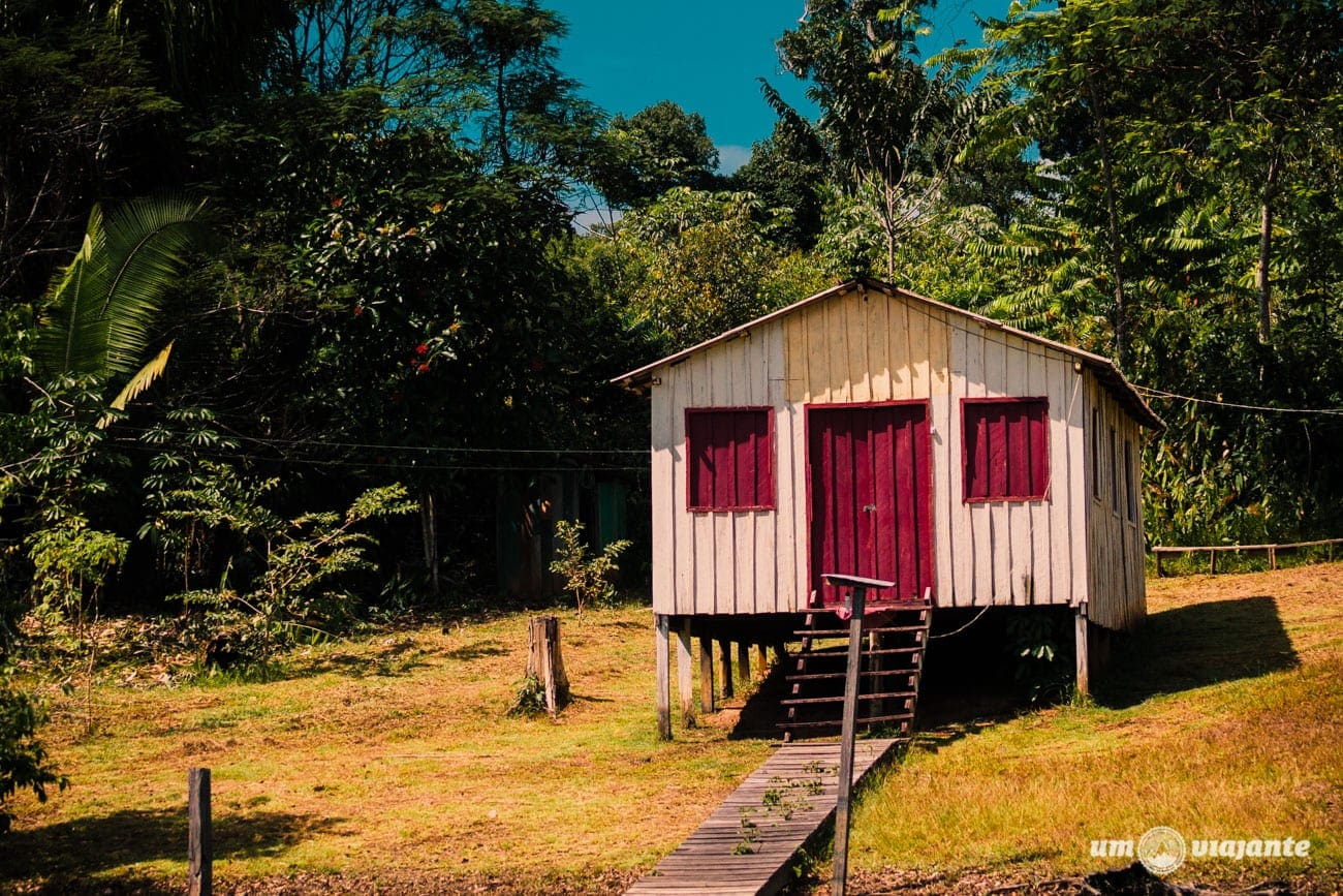 Casa de Caboclo - Amazônia