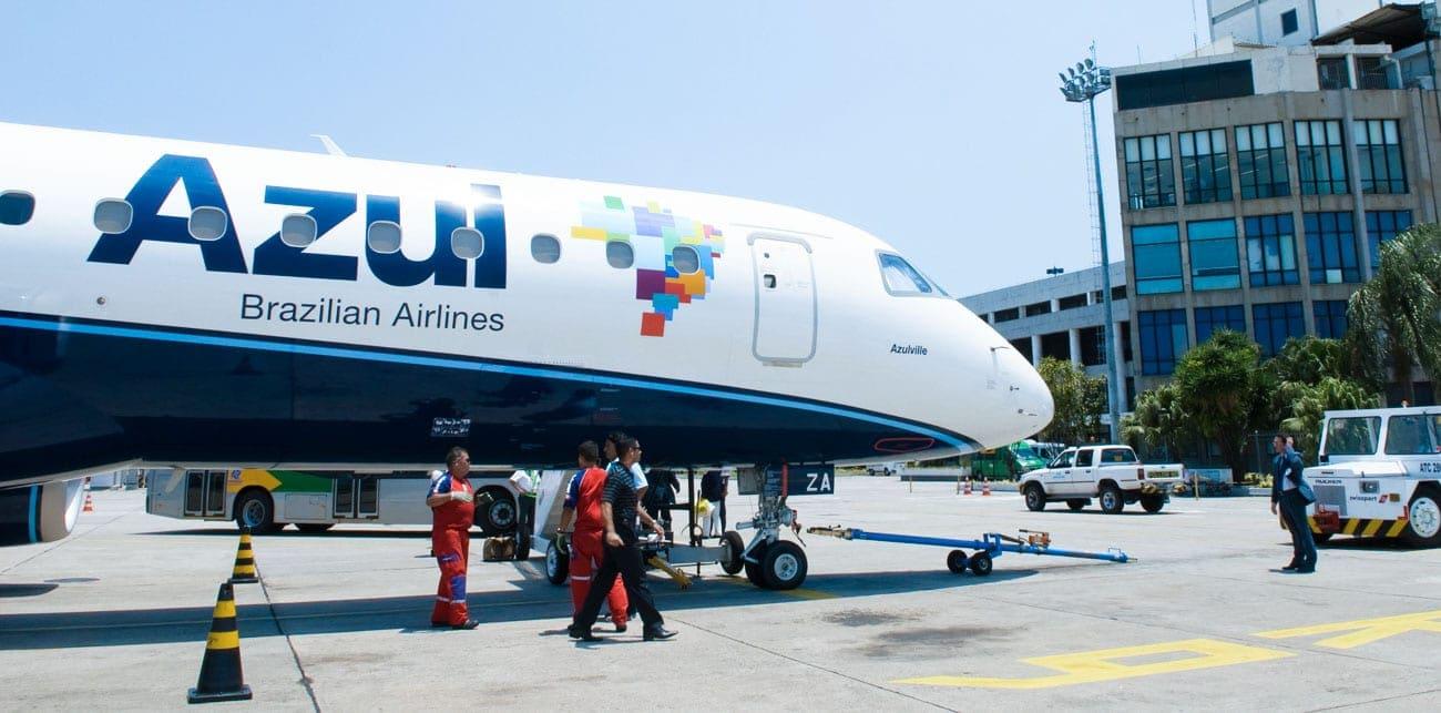 Azul é nova líder em decolagens no estado de São Paulo