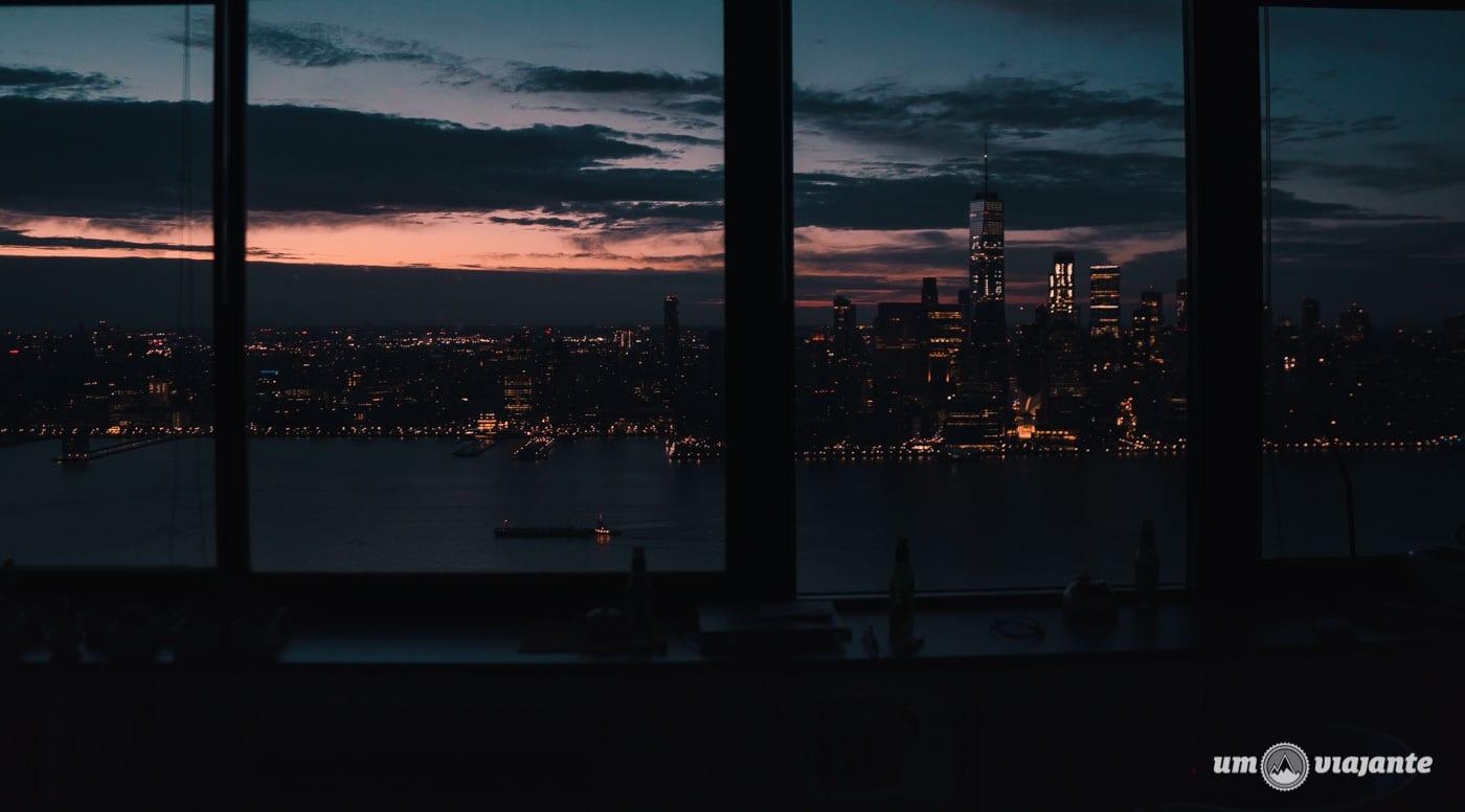 Anoitecer em Nova York - Airbnb com vista para cidade