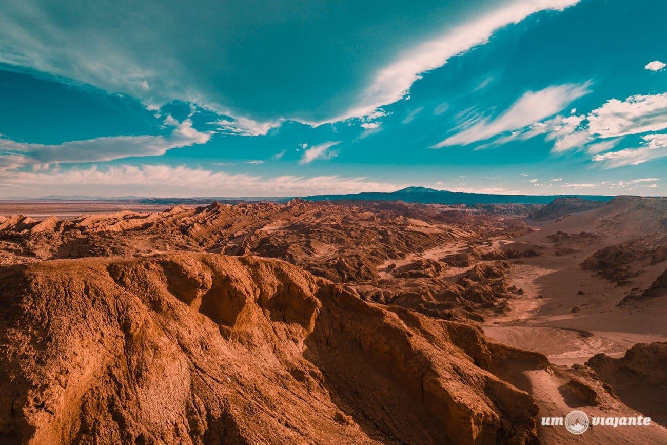 Céu do Atacama desenhado no mês de agosto