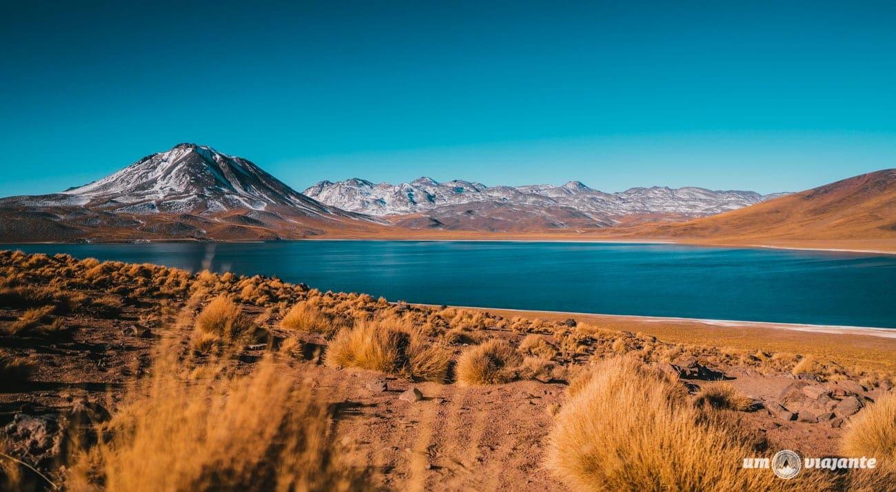 Lagunas Altiplânicas no início de julho - Sem neve