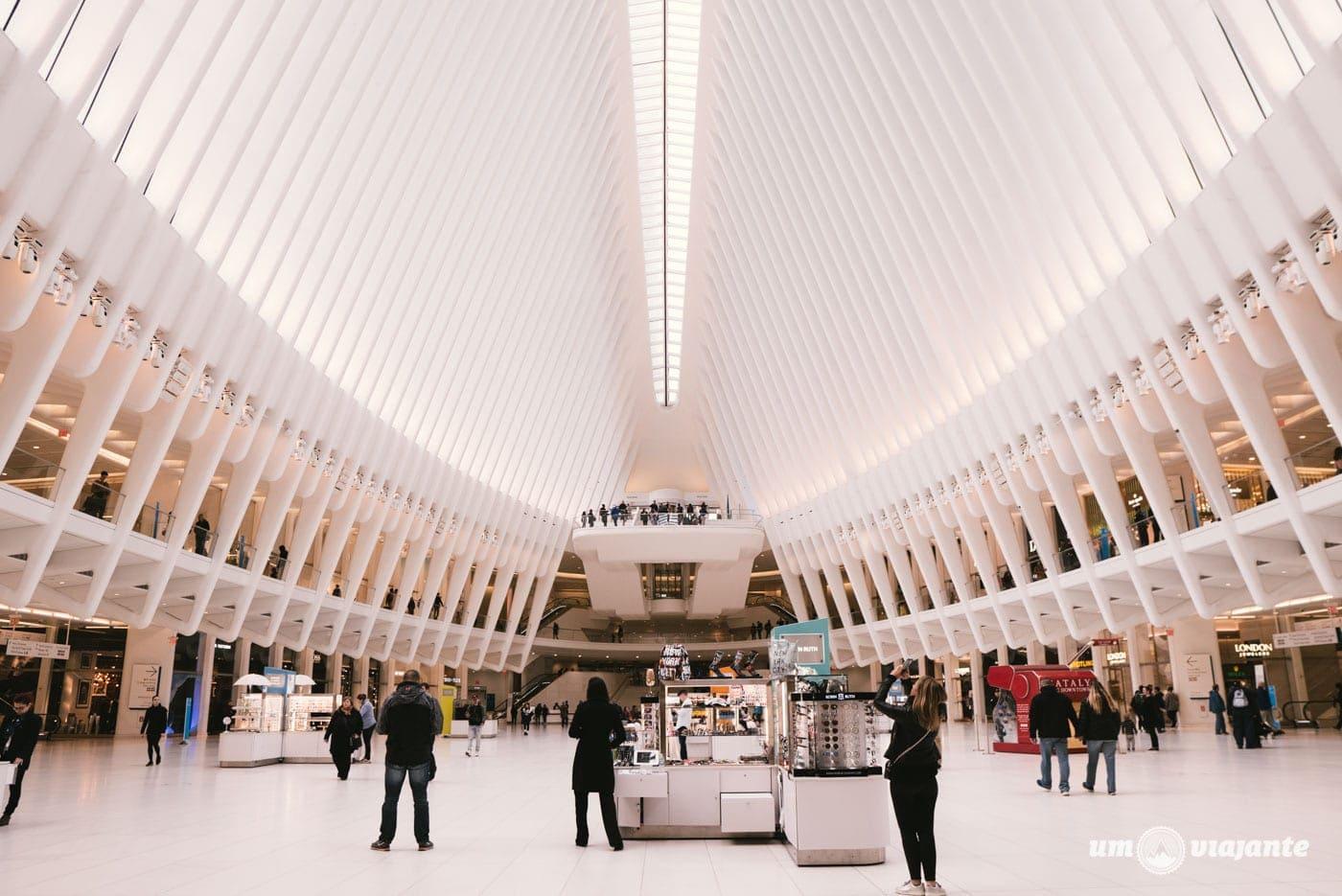 Estação Oculus - WTC - Nova York