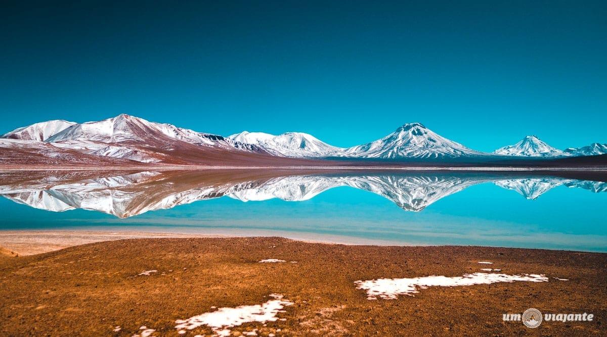 Laguna Lejía, um espelho perfeito no Atacama