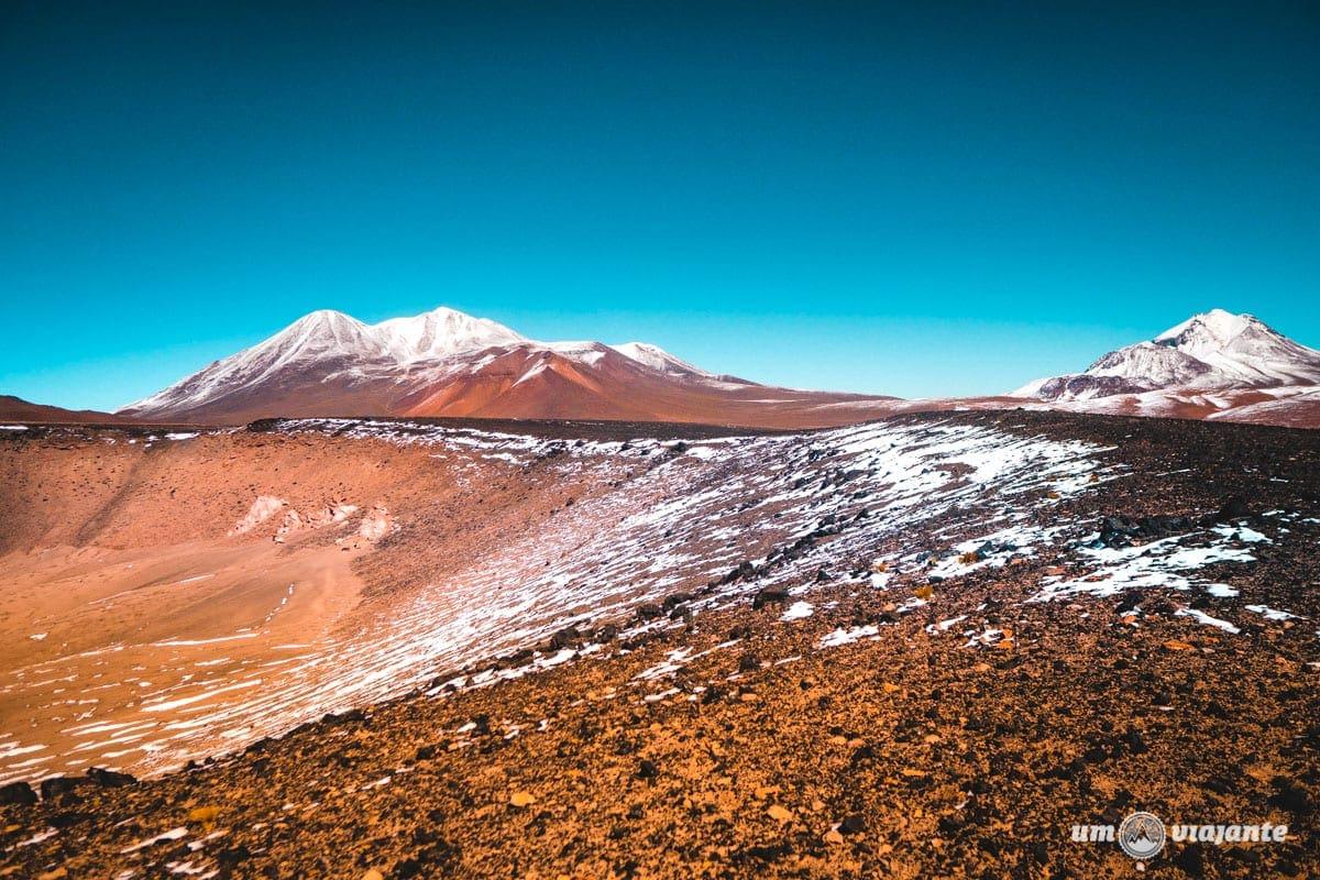 Cratera Misteriosa no Deserto do Atacama