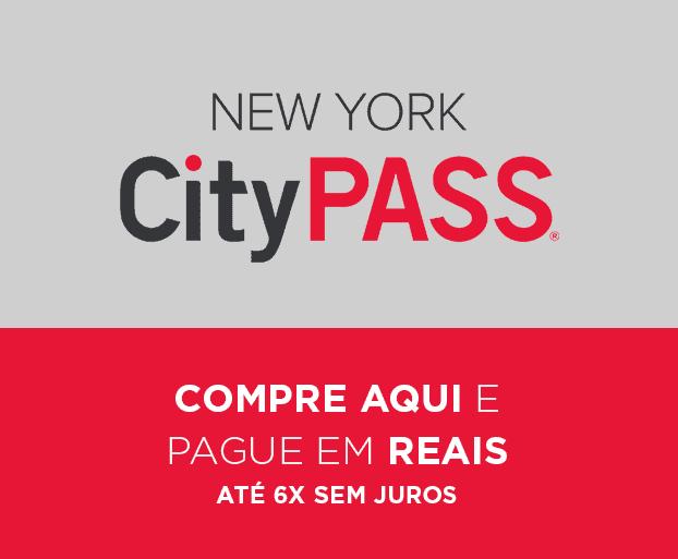 Compre o CityPass e pague em reais