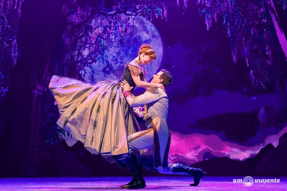 Musical Frozen na Broadway para crianças