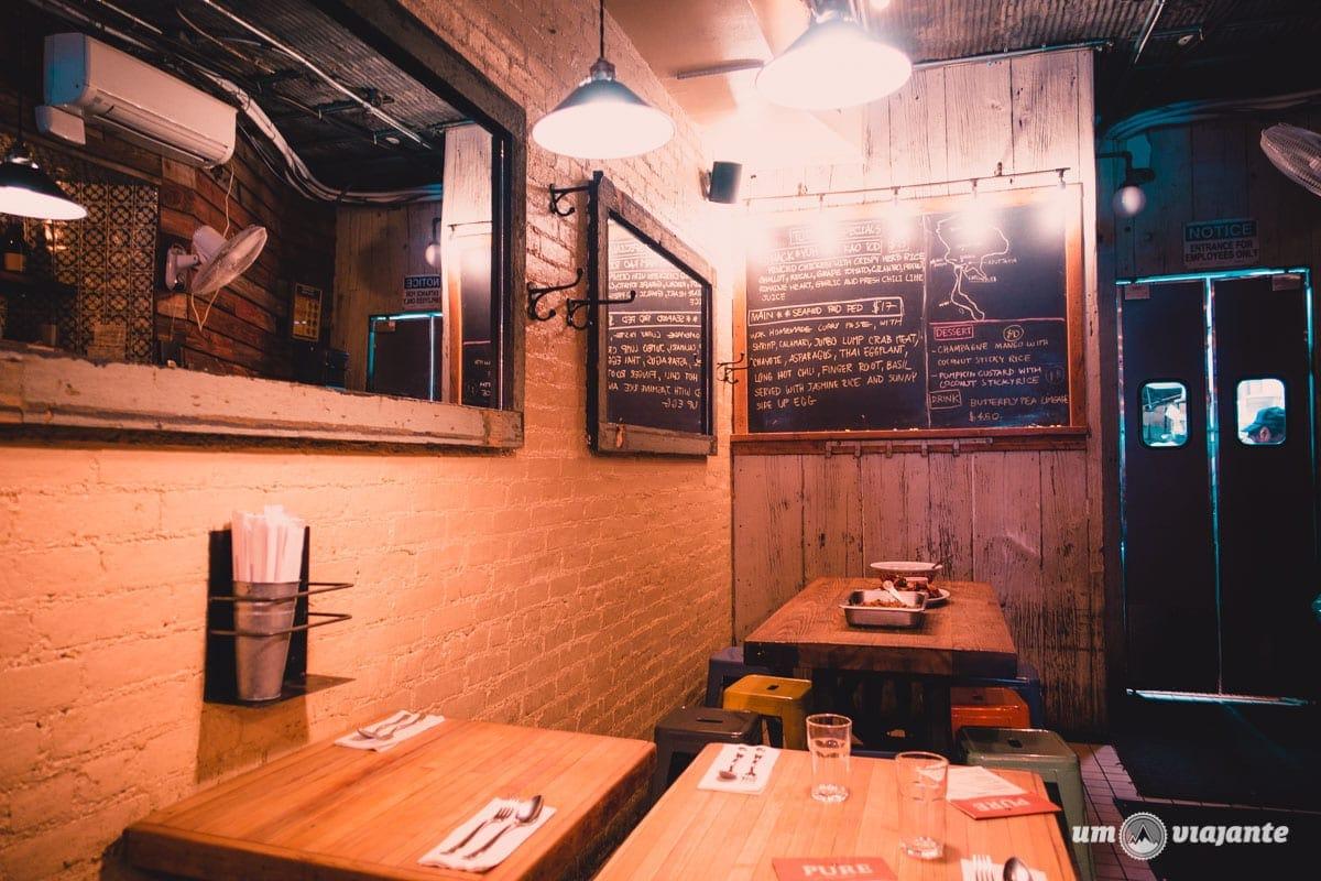 Pure Thai Cookhouse - Melhor restaurante thai em NY