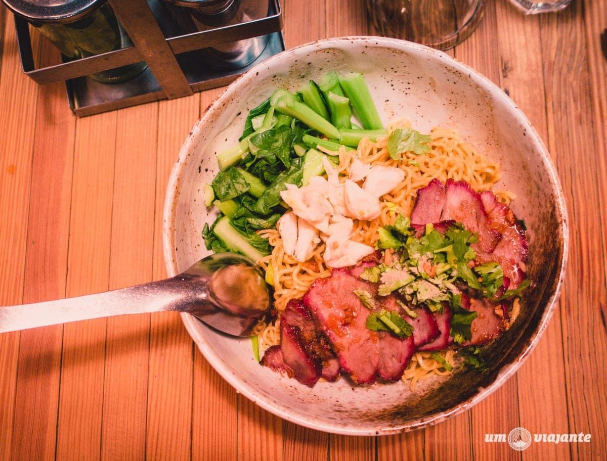 Restaurante tailandês em Nova York