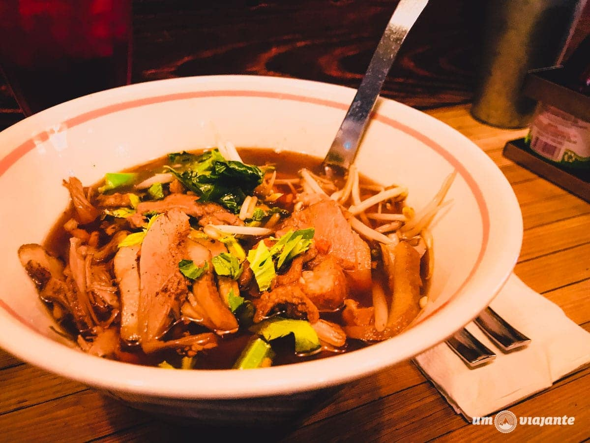 Pa-Yao Beef Noodles Soup