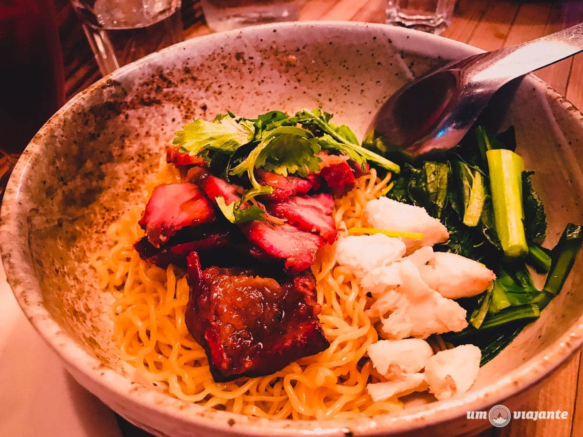 Ratchaburi Crab & Pork Dry Noodles