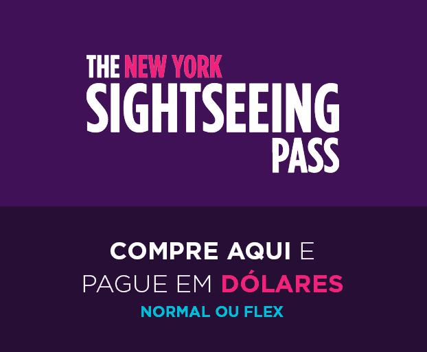 Compre o SighSeeing Pass e pague em dólares