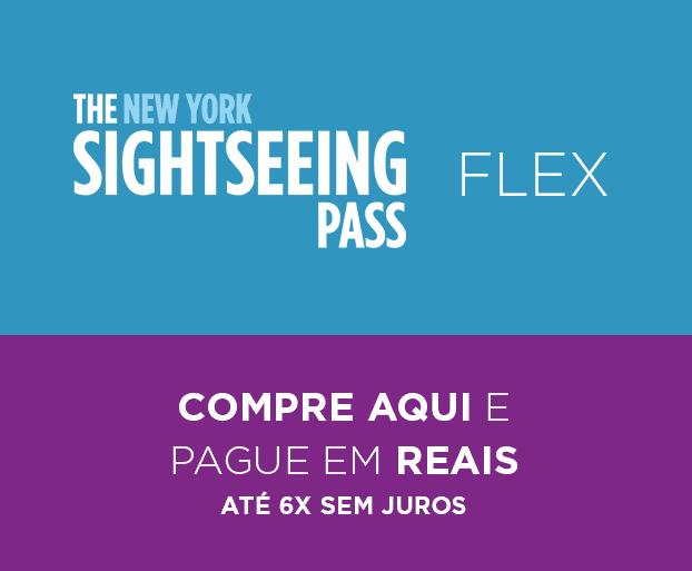 Compre o SighSeeing Pass FLEX e pague em Reais