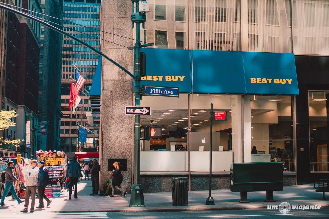 Onde comprar eletrônicos em Nova York: BEST BUY!