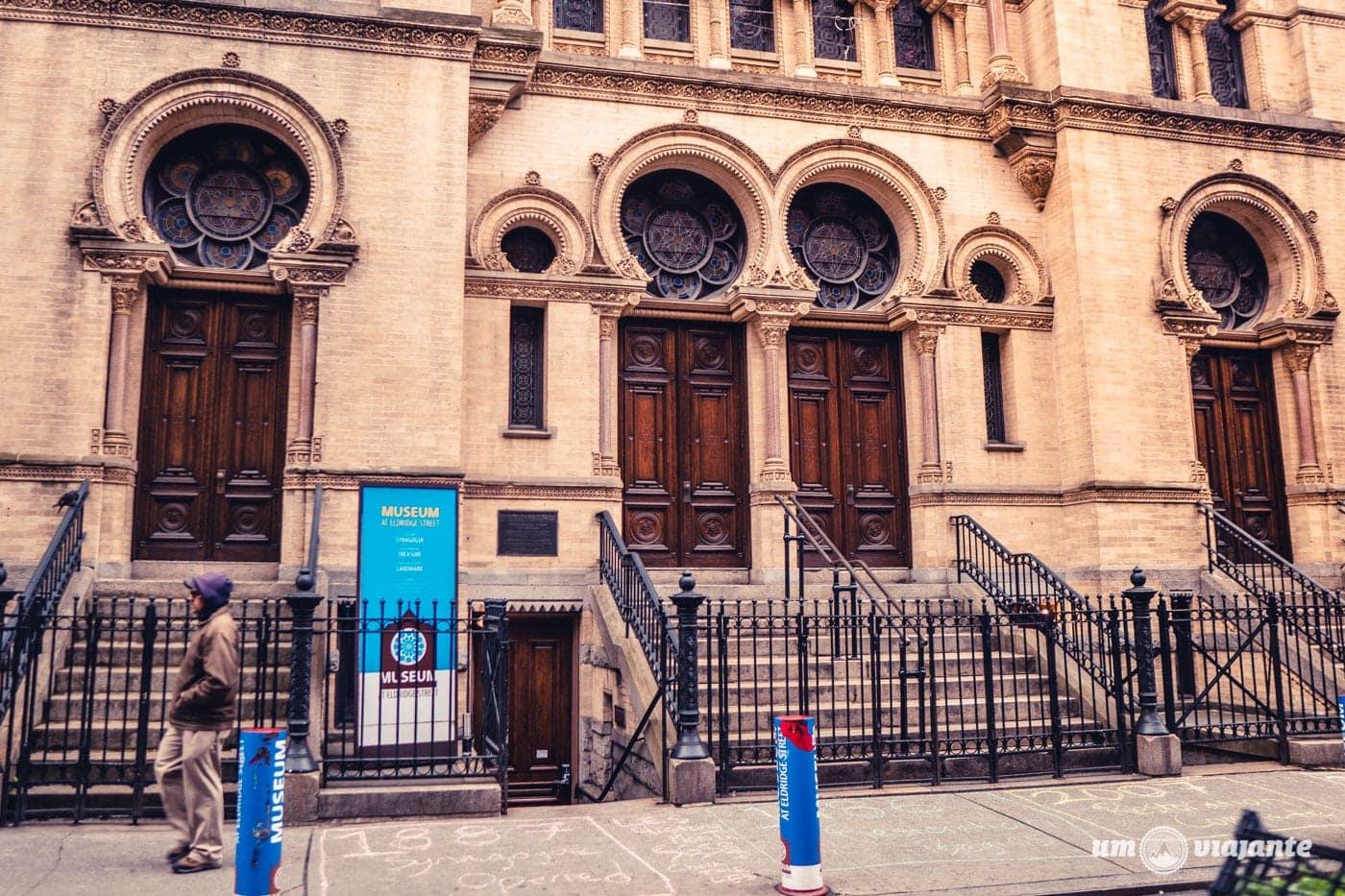 Eldridge Street Museum em Chinatown, Nova York