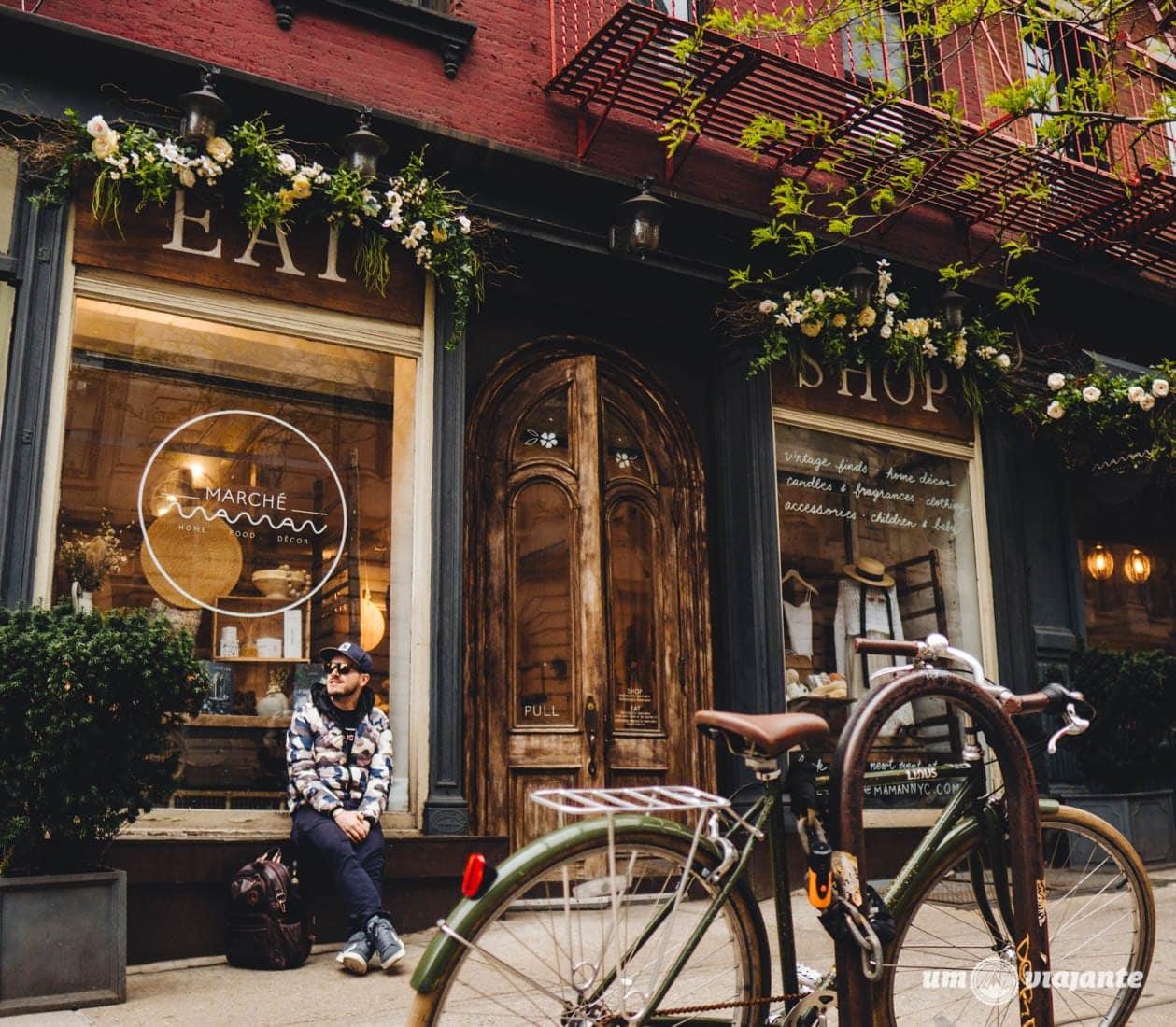 Café lindo e charmoso em Nova York: conheça o Maman Coffee Bakery