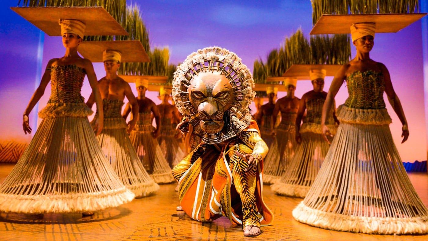 O Rei Leão - O musical da Disney, na Broadway