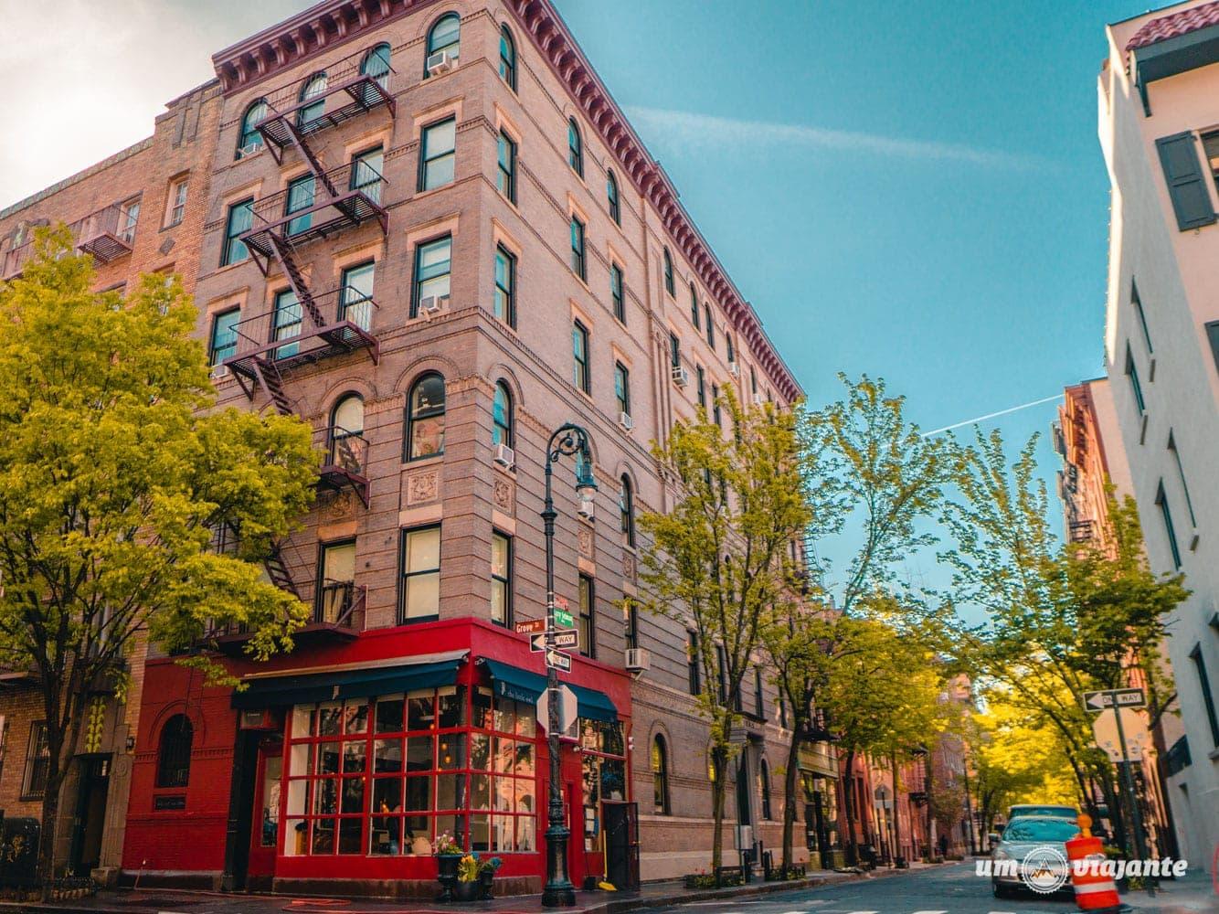 Prédio do seriado Friends - Roteiro de 7 dias em Nova York: o que fazer em uma semana em NYC