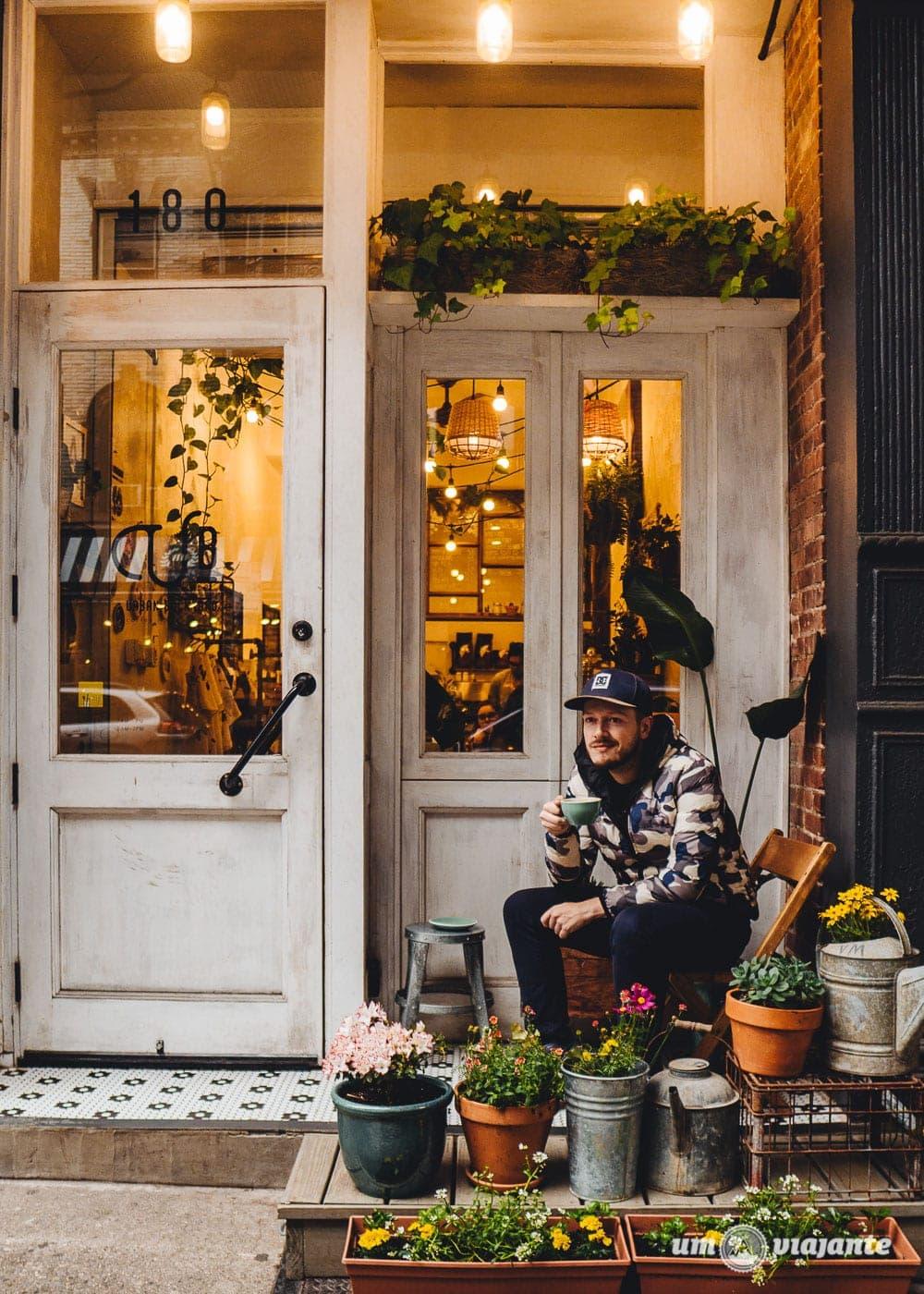 Cub Urban Backyard - Café no SoHO - Roteiro Nova York