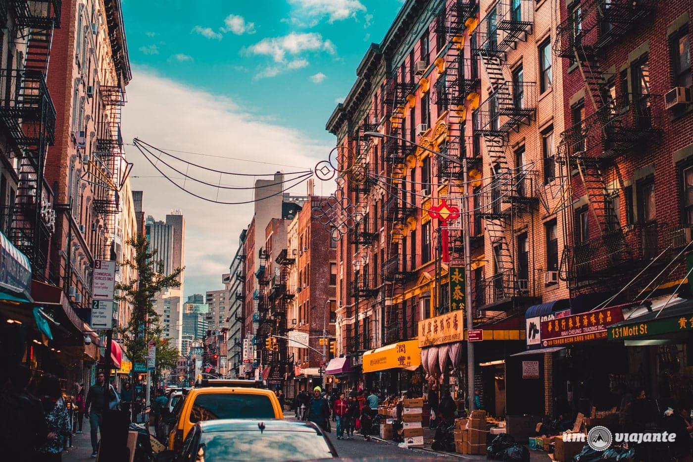 Chinatown - Roteiro viagem Nova York