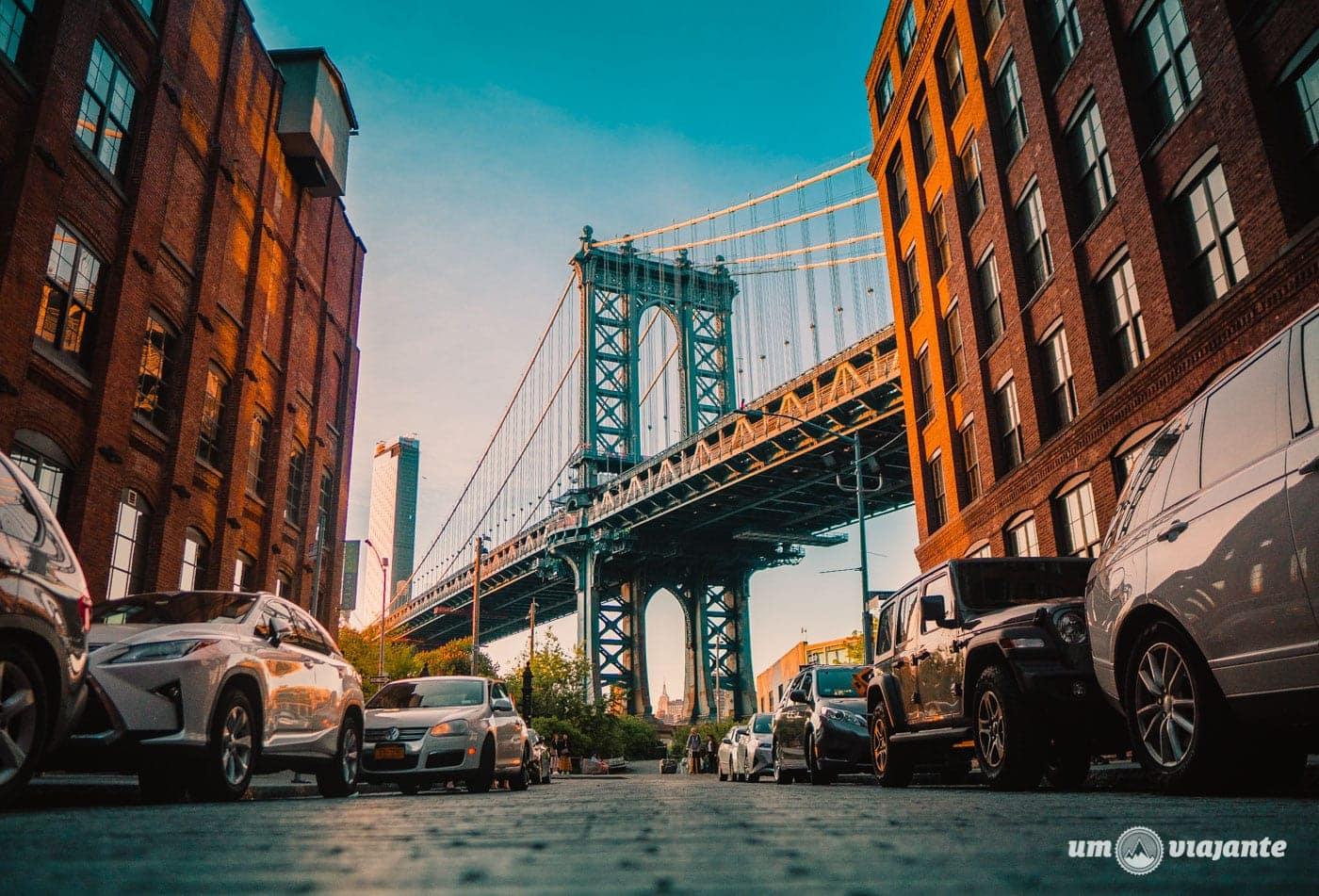 Dumbo, Brooklyn - Manhattan Bridge - Roteiro NYC