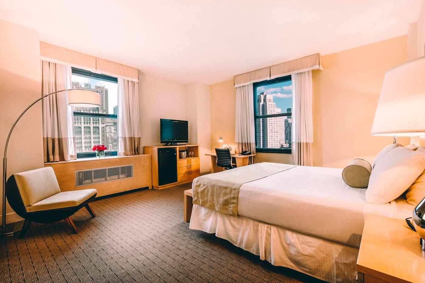 Os quartos novos do Hotel Pennsylvania