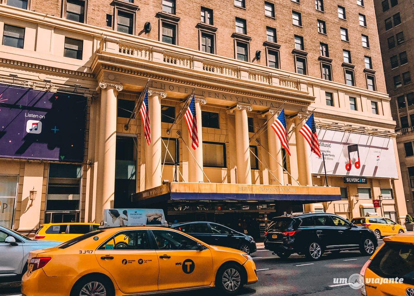 Hotel Pennsylvania Nova York: vale a pena ficar no pior/melhor hotel de NYC