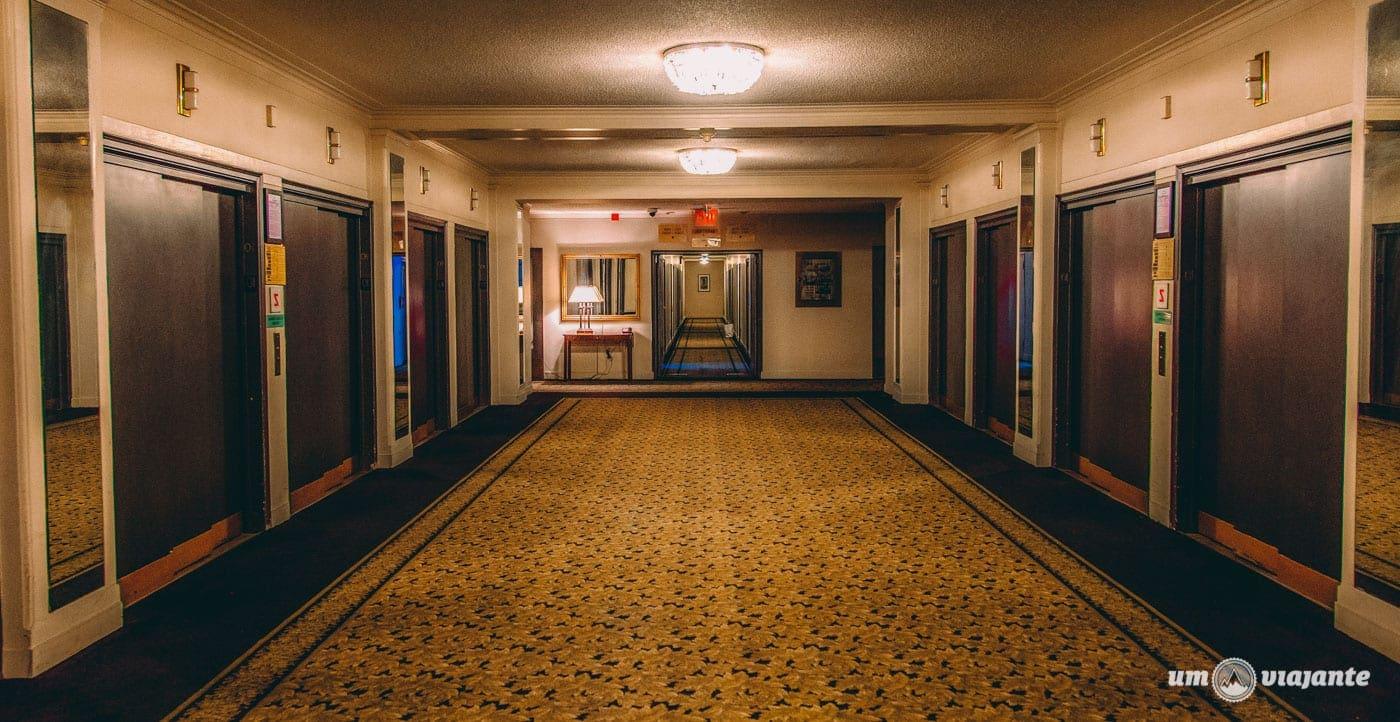 Estrutura e limpeza do hotel Pennsylvania