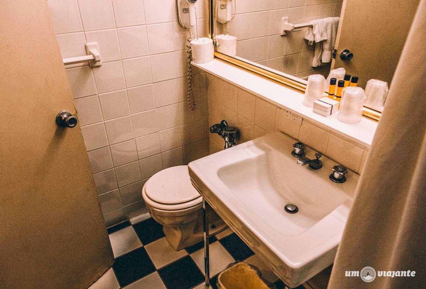 Os quartos do Hotel Pennsylvania