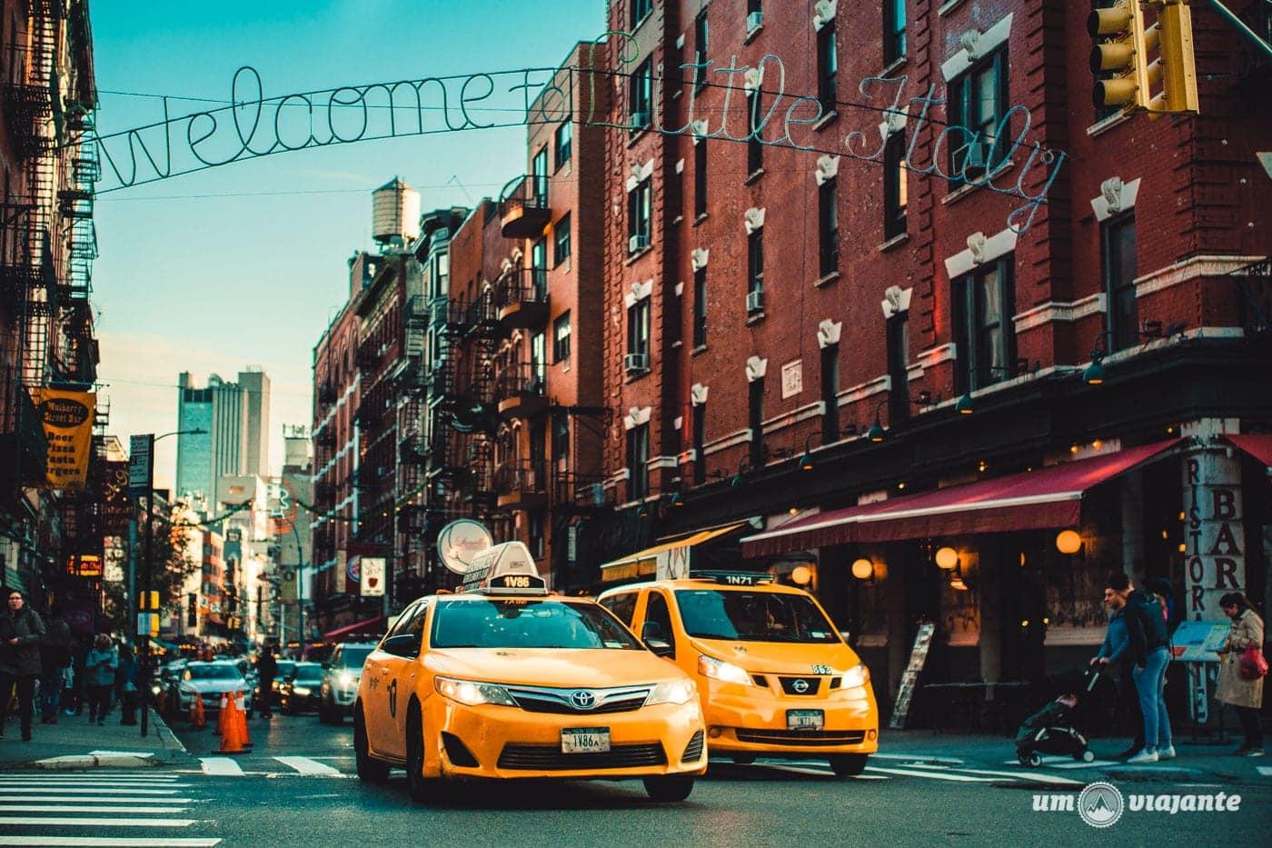 Little Italy - Roteiro viagem Nova York