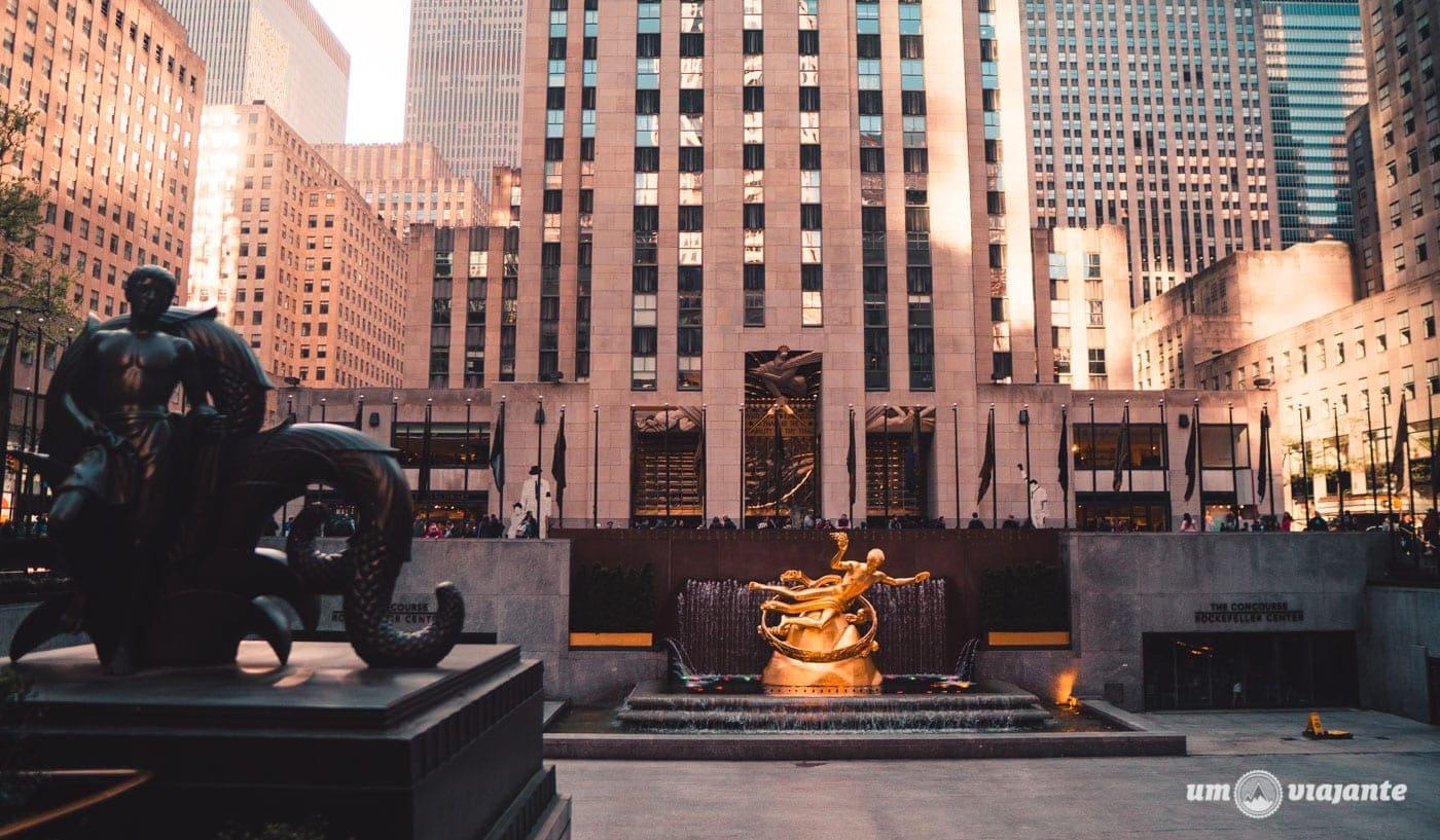 Rockefeller Center - Roteiro de 7 dias em Nova York: o que fazer em uma semana em NYC