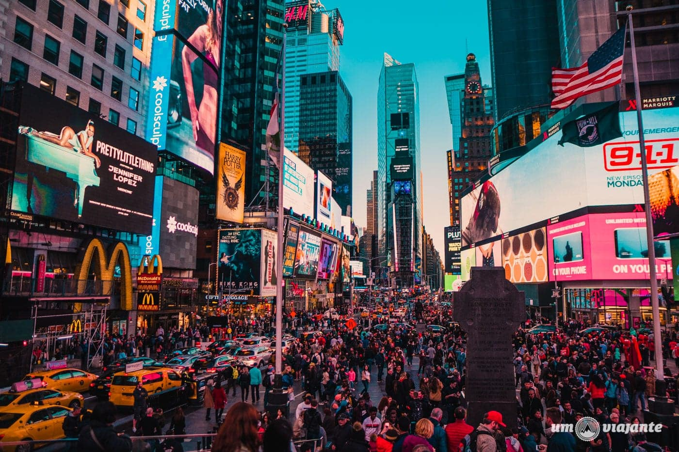 Times Square - Roteiro de 7 dias em Nova York: o que fazer em uma semana em NYC
