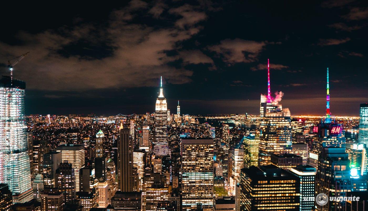 Top of the Rock - Roteiro de 7 dias em Nova York: o que fazer em uma semana em NYC