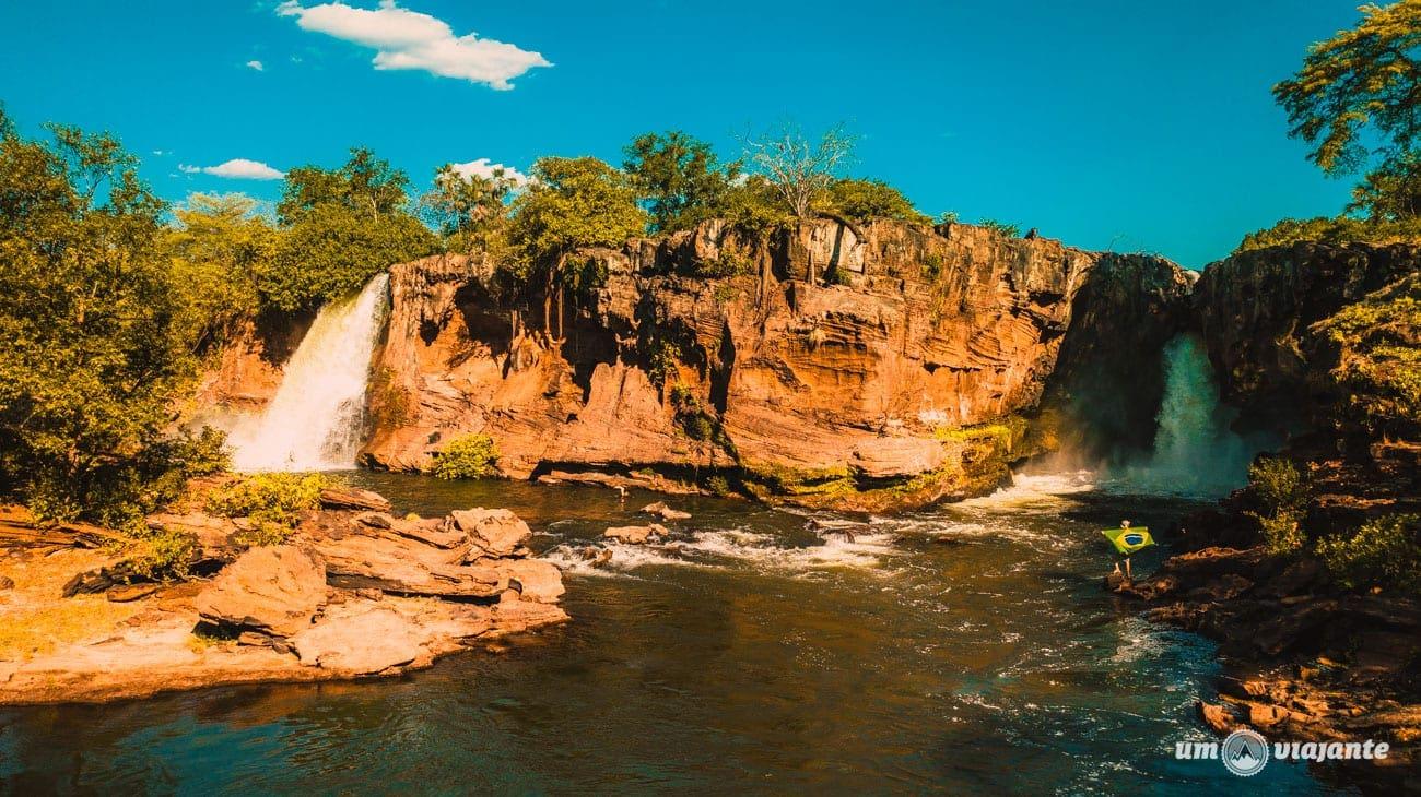 Cachoeira da Prata Chapada das Mesas em Setembro, Maranhão
