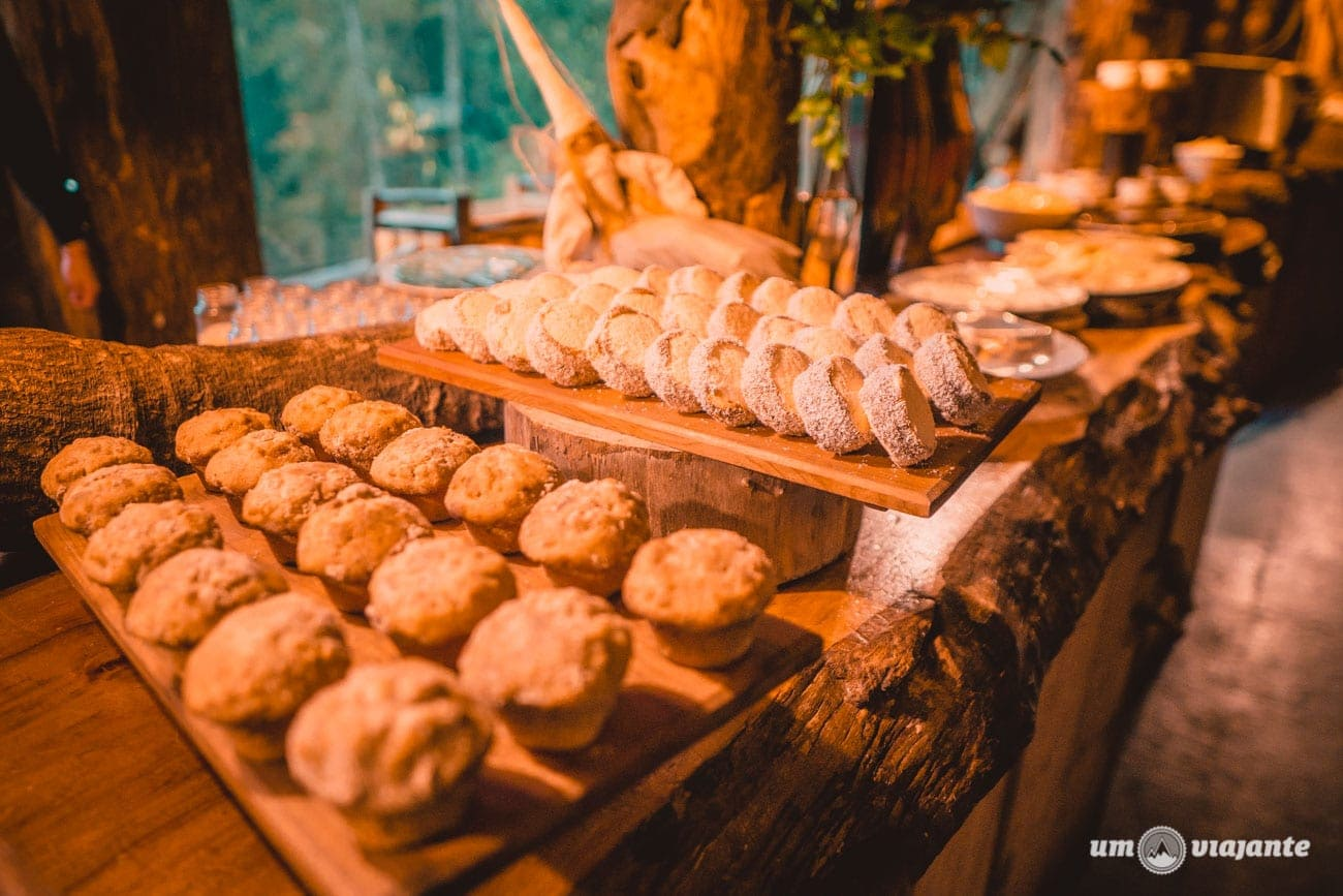Café da manhã Hotel Nothofagus