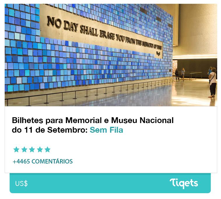 Museu do 11 de Setembro em Nova York