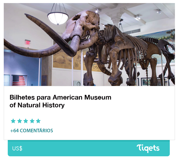 Ingresso Museu de História Natural