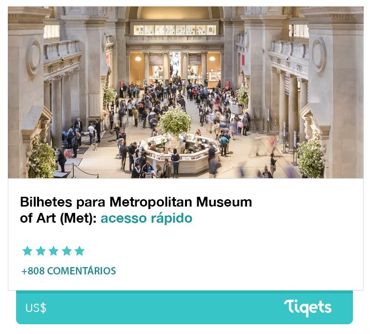 Ingresso Met - Metropolitan Museum of Art
